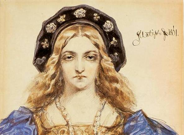 Come una bella italiana divenne la madrina di Varsavia
